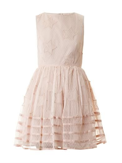 Whimsical star-embroidered dress by RED Valentino