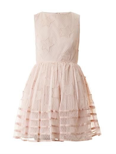 Star-embroidered tuelle dress   REDValentino   MATCHESFASHION.COM
