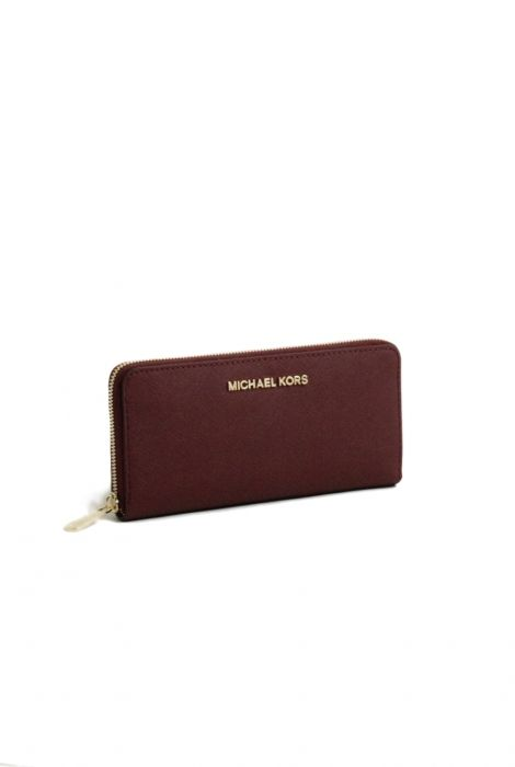 Michael Kors wallet jet set travel merlot portafoglio jet set travel merlot Michael Kors shop online