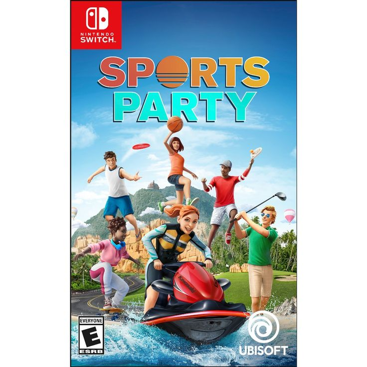 Sports Party Nintendo Switch, Adult Unisex Sports