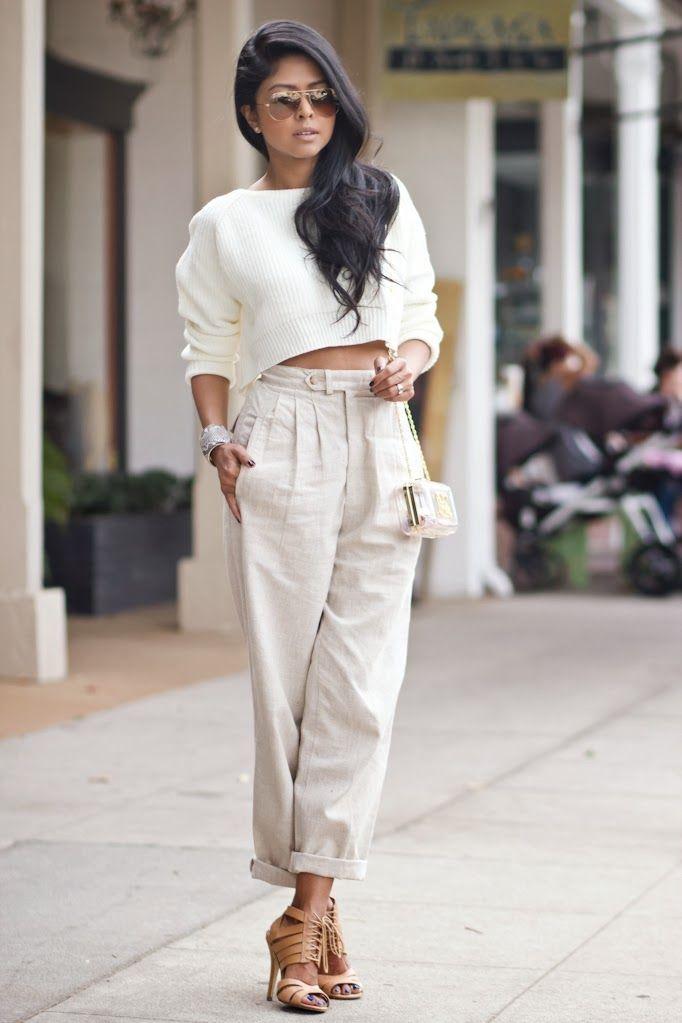 Η μόδα επιβάλλει λευκά παντελόνια! Ας την ακολουθήσουμε!-slide#4