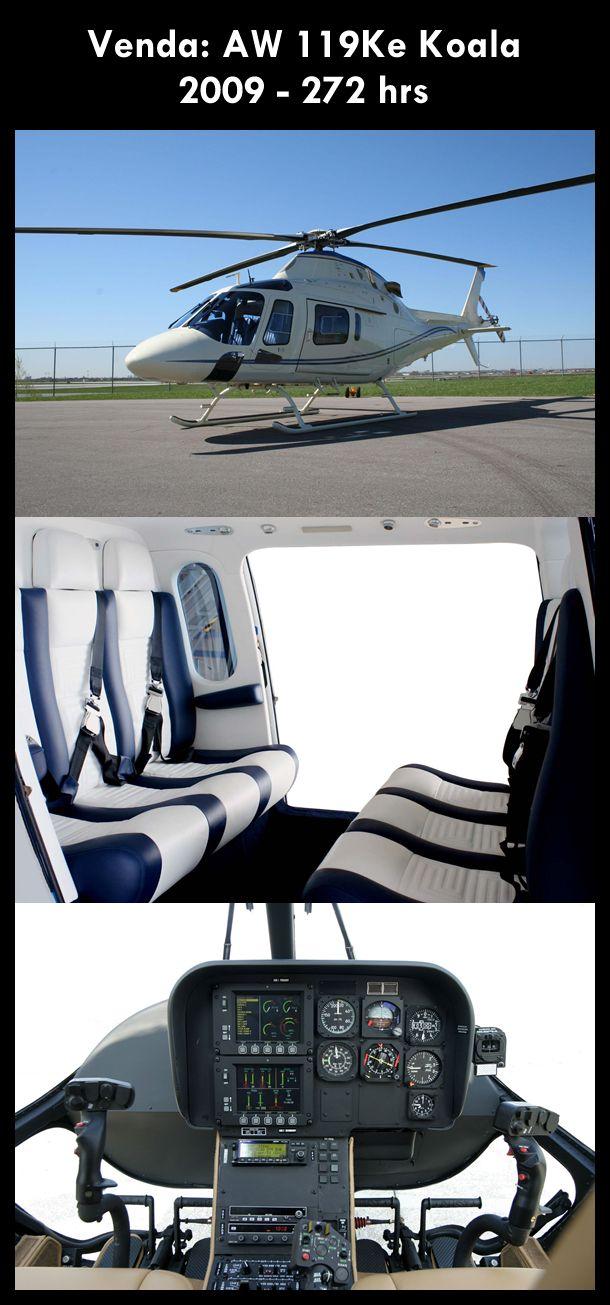 My dream chopper.... Augusta Westland AW119 Koala. Super powerful super solid...