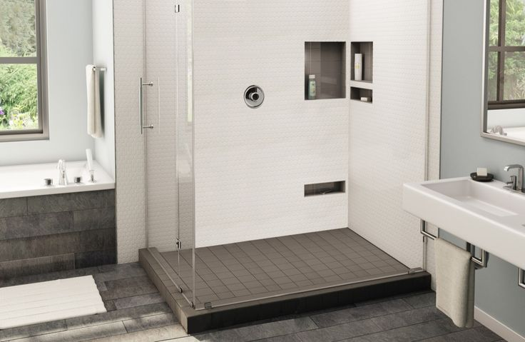 WonderFall Trench Shower Pans & Bases