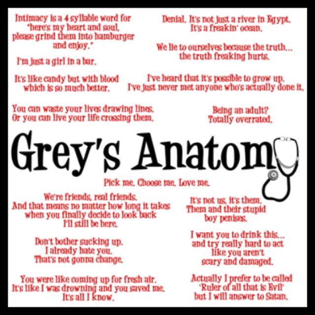 45 best Greys anatomy <3 images on Pinterest | Grays anatomy, Grey ...