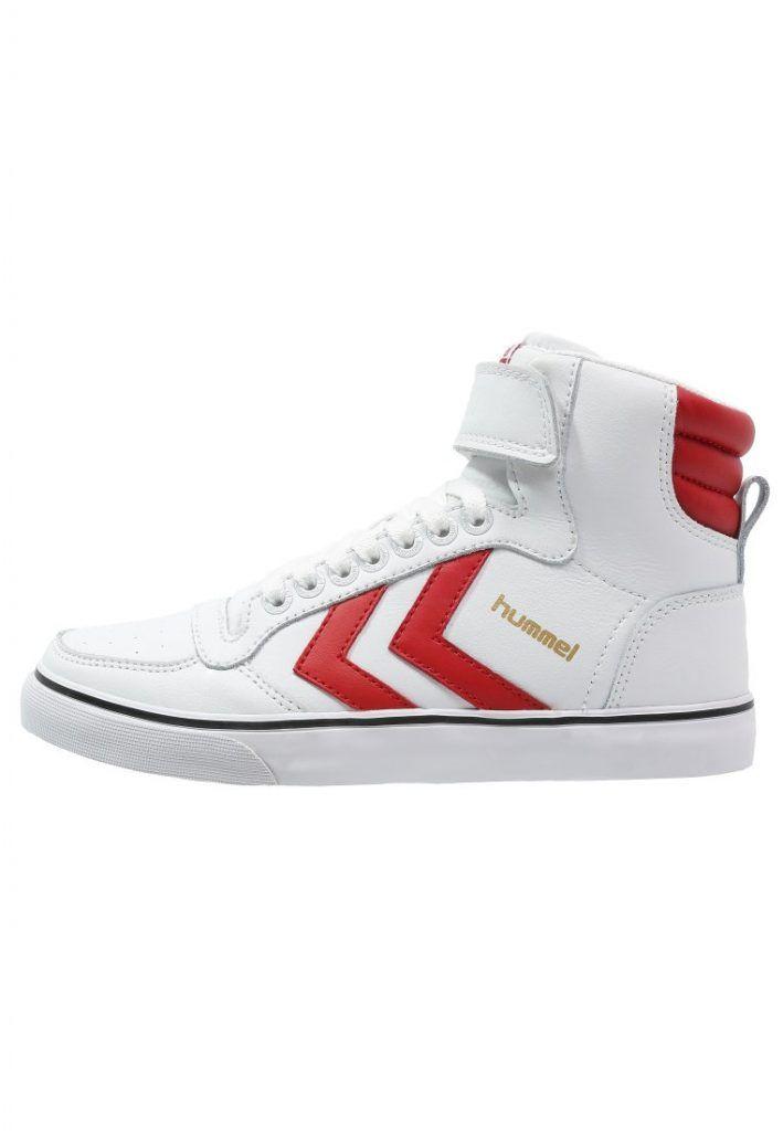 Hummel STADIL CLASSIC Sneaker high white/red für Unisex -