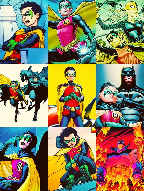 Damian Wayne, the son of Batman.
