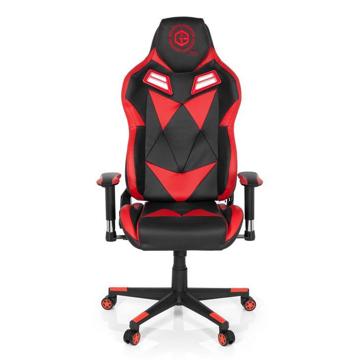 #Gaming #Stuhl / #Bürostuhl #Sportsitz #GAMEBREAKER by hjh OFFICE #SX03 #rot #red #front #vorderansicht #furniture #gaming stuhl #gamingchair #progamer #style #design #chair #officechair #office #gamingsetup #callofduty #gamer #racing #rennsitz #racer #league #need #red #schwarz #ergonomisch #buerostuhl24.com #chefsessel #boss