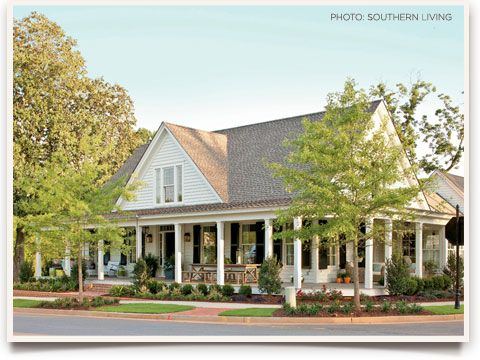 Southern Living Idea House 2012 | Ballard Designs Style StudioIdeas, Floors Plans, Southern Living, Exterior, Dreams House, Farmhouse Revival, Wraps Around Porches, Front Porches, House Plans