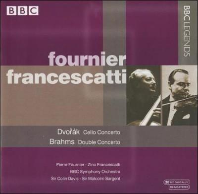 Precision Series Pierre Fournier - Dvorak: Cello Concerto