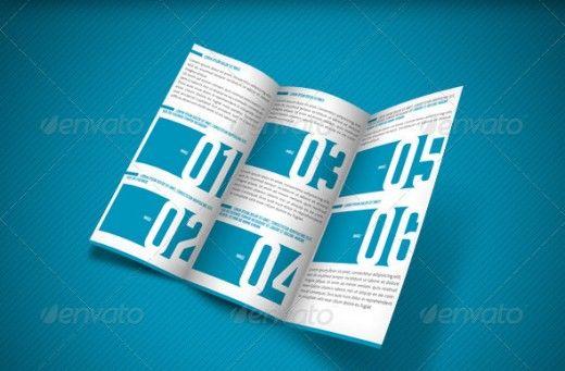 20 Cool 3 Fold Brochures Designs Inspiration | DesignDune