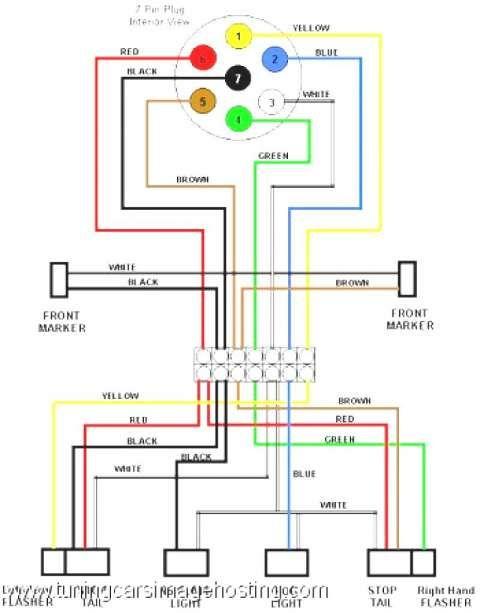 12  Diagram Of Trailer Lights For Dodge Truck