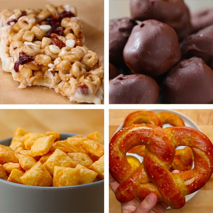 Whip up these healthier snacks in a jiffy!