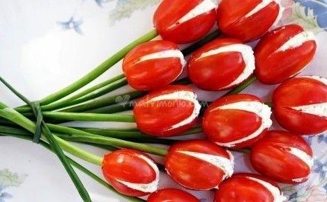 Tulipani di philadelphia di Chef a domicilio | Foto