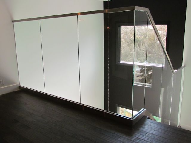 Indoor Glass Railings from Airdrie Windshield & Glass