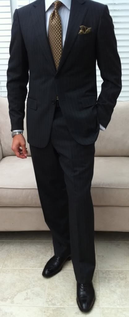 Men should wear this all day everyday. A man in a suit is SEXY