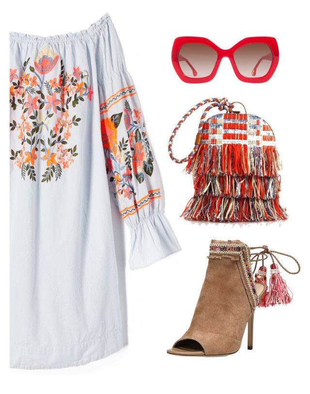 """""""Summer Boots"""" by junglover ❤ liked on Polyvore featuring Free People, Sam Edelman, Tory Burch and Alice + Olivia"""