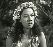 Movita in Paradise Isle (1937). Marlon Brando's second wife.