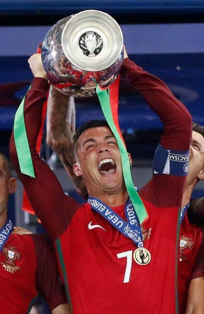 Cristiano Ronaldo - http://celevs.com/top-10-photos-of-cristiano-ronaldo-portugal-euro-2016/ (Euro 2016 Portugal Champion)