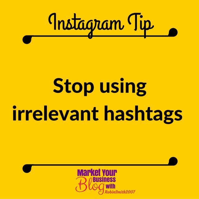 Instagram Tip: Stop using irrelevant hashtags. I have seen this time and time again. Stop using hashtags that have nothing to do with your posts. A lot of times these are popular but they are so overused that you can't possibly benefit in any real way. Think about what your post is truly about and find relevant hashtags to post with it. You will see more consistent likes and new followers this way starting now and from this point on. Want to learn more about building your business using…