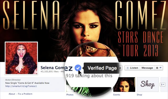 Facebook Unveils Verified Pages And Profiles, Takes A Page From Twitter's Playbook