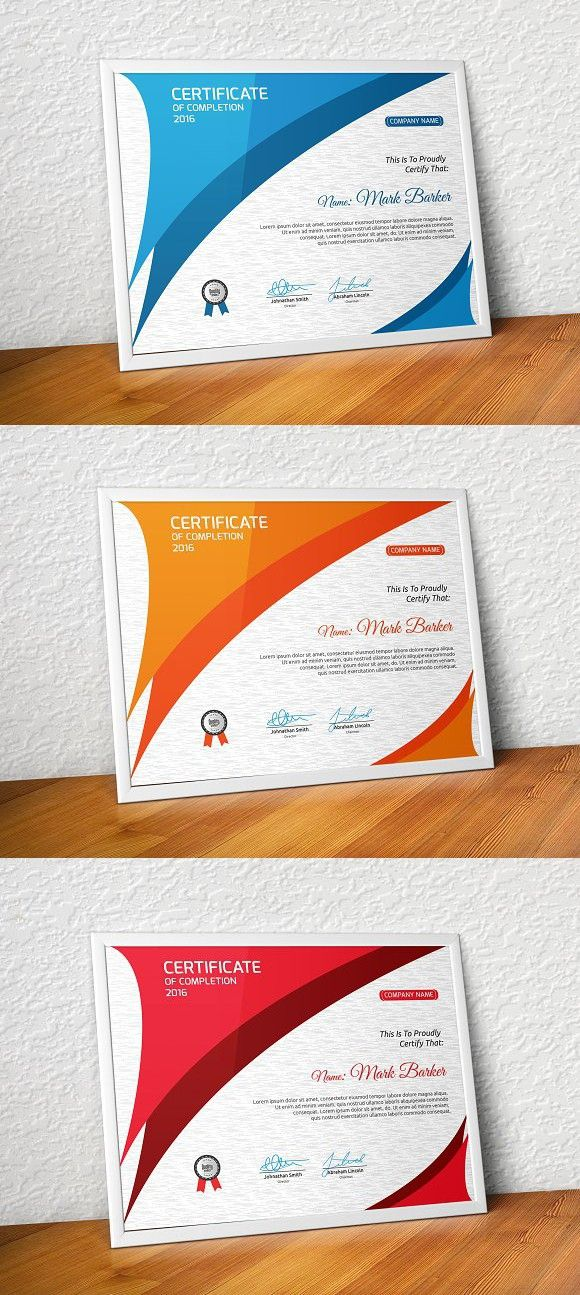 Certificate. Stationery Templates