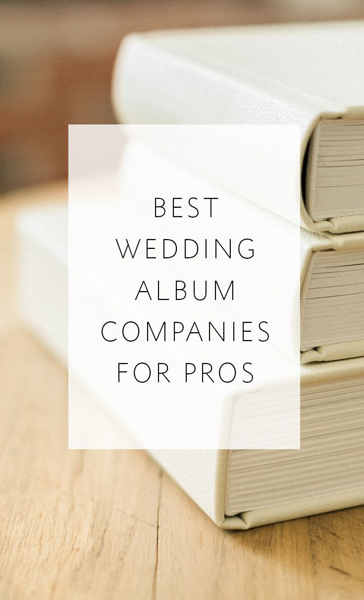 The top 10 most popular album companies used by professional photographers -- get the guide!