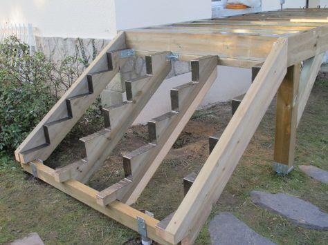 terrasse sur pilotis avec vis de fondation sans mettre de plots b ton maison pinterest. Black Bedroom Furniture Sets. Home Design Ideas