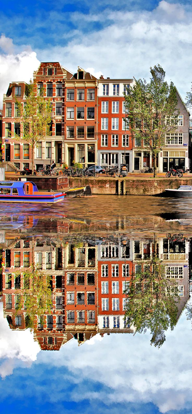 Beautiful View of Amsterdam, Holland   13 Reasons Why The Netherlands Must Be On Your Bucket List
