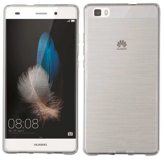 Transparant TPU hoesje voor de Huawei P8 Lite