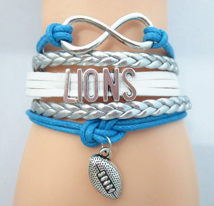 TODAY'S SPECIAL OFFER BUY 1, GET 1 FREE SALE Limited time offer - Infinity Love Detroit Lions Football Bracelet on Sale. Buy one or more bracelets and we will give you one extra bracelet free of charg