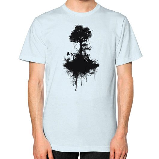 Last Tree Standing Unisex T-Shirt (on man)
