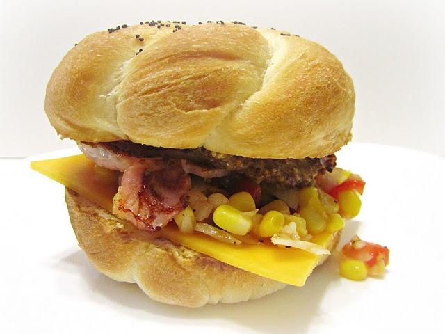 Peameal Bacon on Homemade Kaiser Rolls