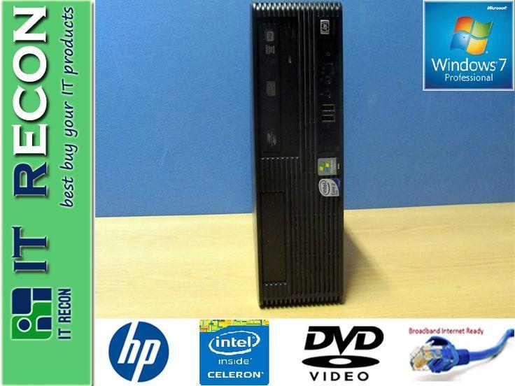 HP PRO 3000 SFF Intel Celeron @2.5GHz 750GB 2GB Win7 Pro