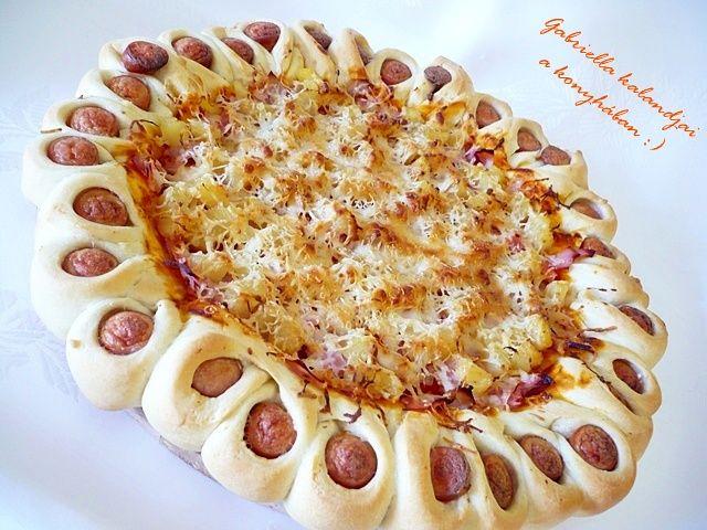 Gabriella kalandjai a konyhában :): Pizza új köntösben