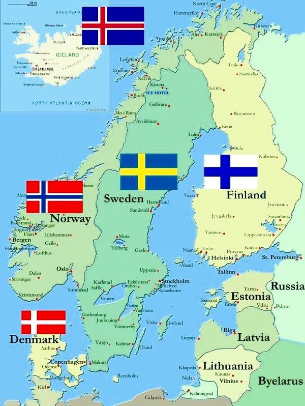 Scandinavia Sweden Travel Norway Sweden Finland Norway