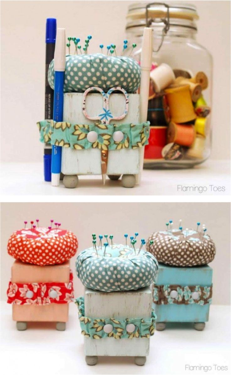 Cute Little Sewing Tool Caddy Sewing Tools Fabrics