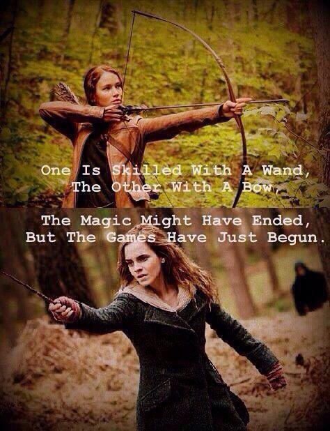Awesome / FANDOMS UNITE / Harry Potter / Hunger Games / Katniss