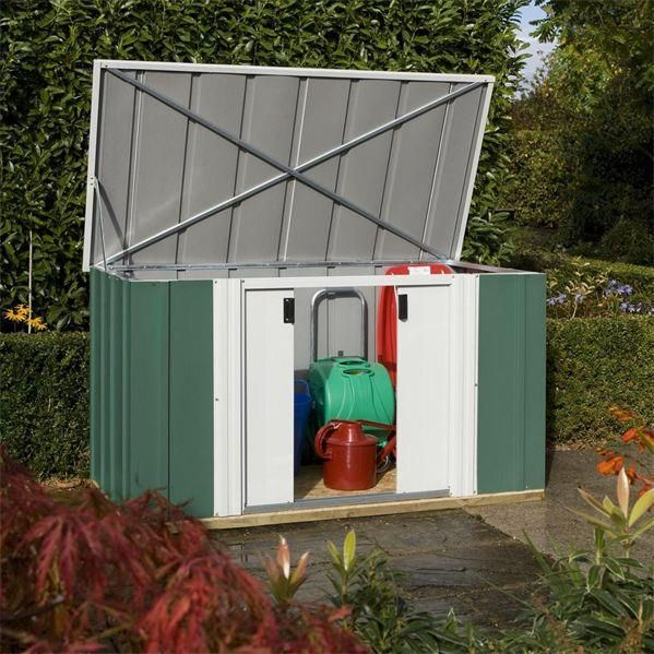 6 x 3 metal storage unit - Garden Sheds 6 X 3