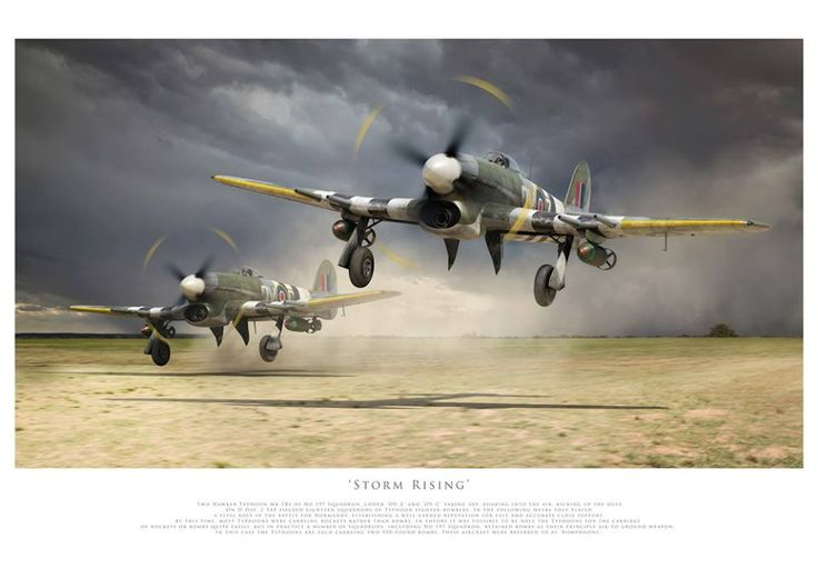 "Hawker Tempest ""Storm rising"""
