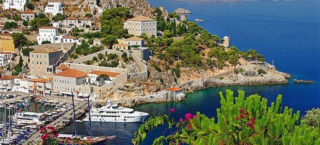 Ydra island in Greece by Telegraph