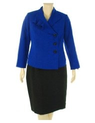Kasper Blue Moon 2 Piece Skirt Suit