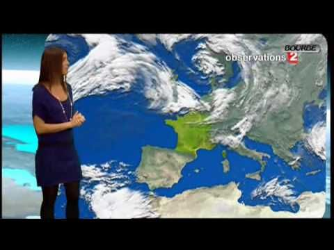 Weather forecast in French- lots of great weather related vocabulary for students.