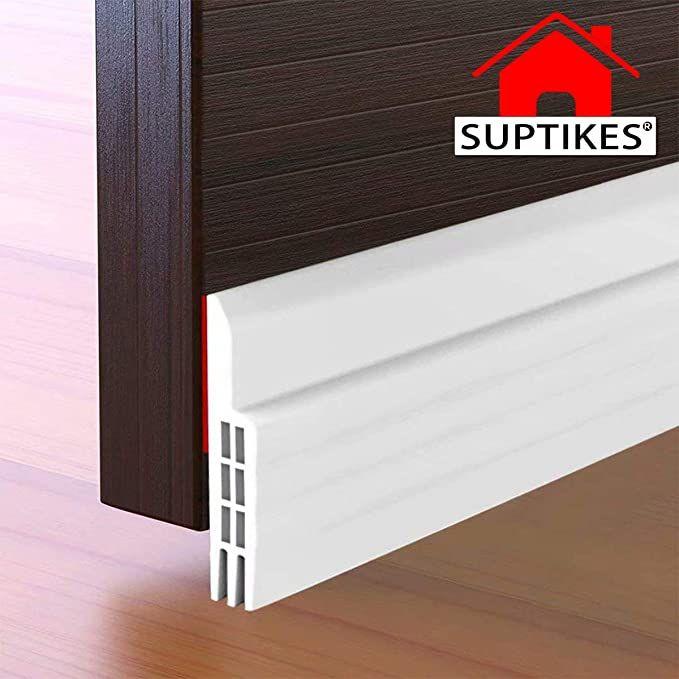 Amazon Com Suptikes Door Draft Stopper Under Door Seal For Exterior Interior Doors Door Sweep Strip Under D In 2020 Door Draught Stopper Draft Stopper Doors Interior