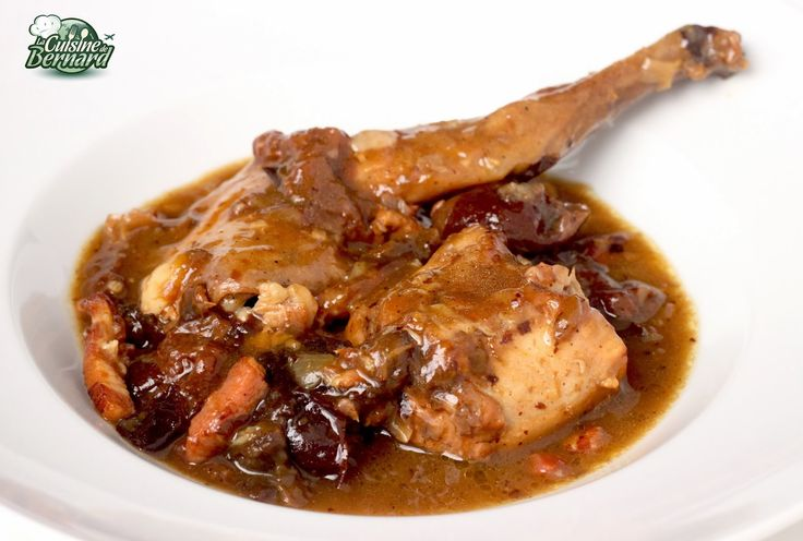 La Cuisine de Bernard : Lapin aux Pruneaux