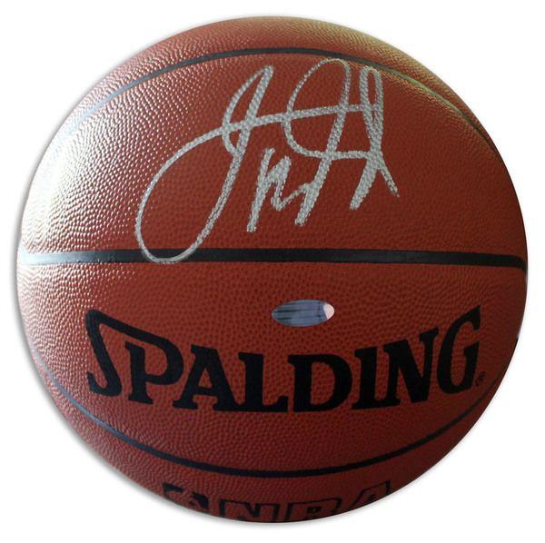 Jason Kidd Autographed Official NBA Basketball - APE COA