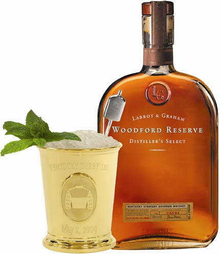 Woodford Reserve Mint Julep at the Derby