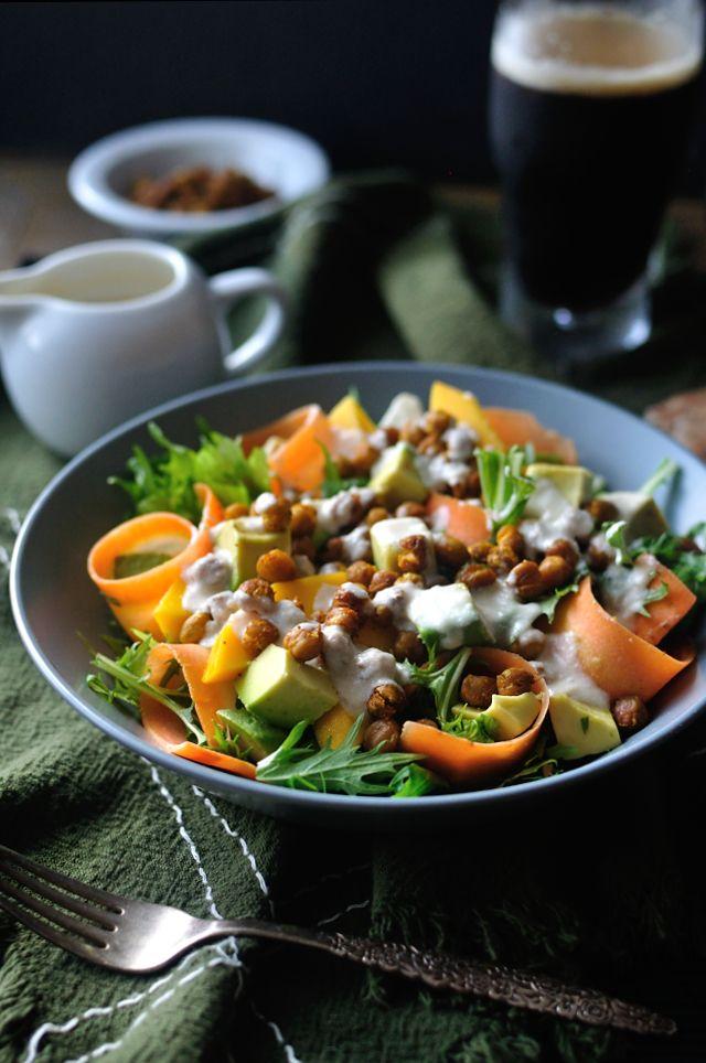 Ein Mörder Vegan-Salat