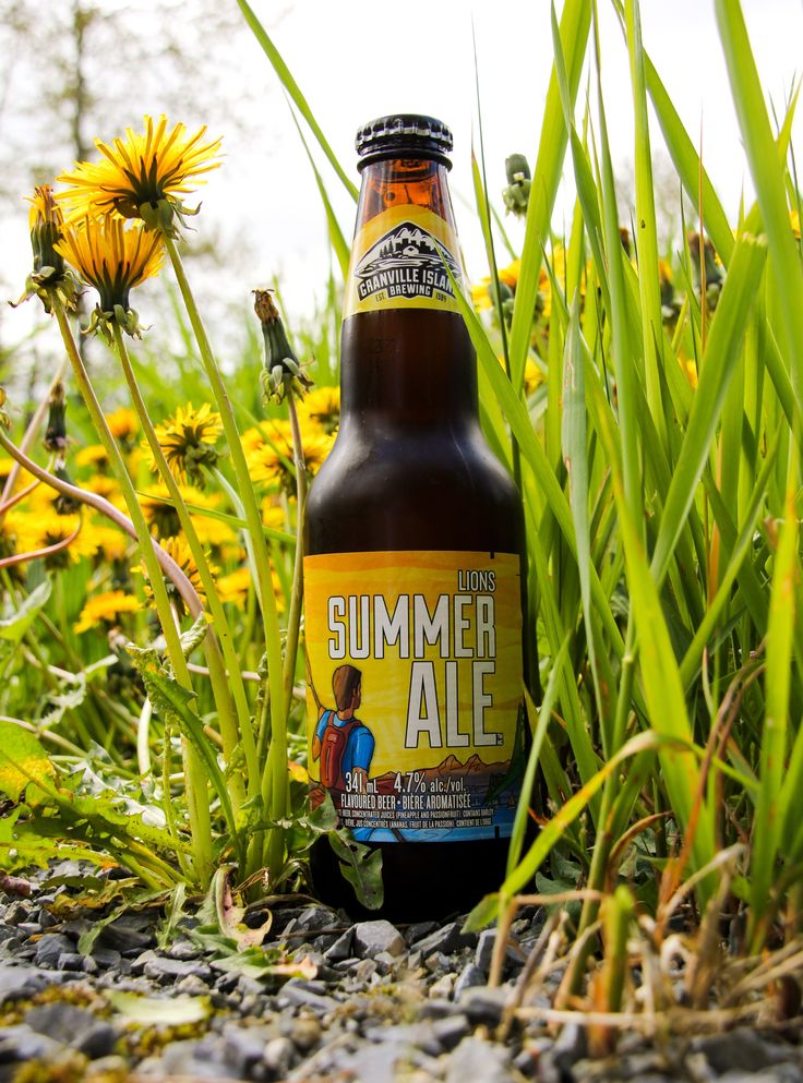 Granville island, brewery, Celebrate summer with the Lions Summer Ale from Granville Island Brewing. Granville island beer, summer ale, beer