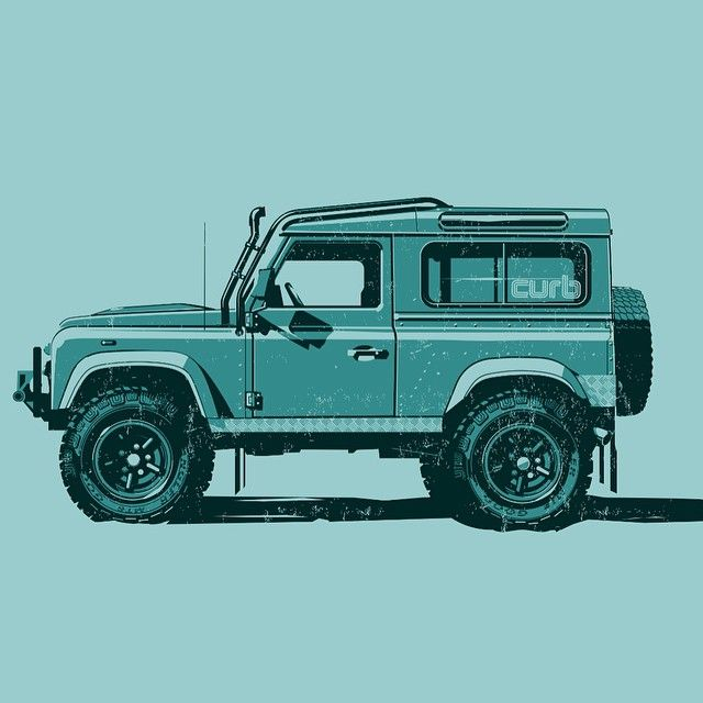 246 Best Images About Land Rover's Illustrations On Pinterest