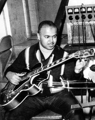 """Robert White, member of the Funk Brothers. White is known for his famous riff in the song """"My Girl"""""""
